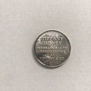 Tiffany & Co gift coin